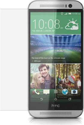 CaseUp HTC One M8 CaseUp Şeffaf Ekran Koruyucu