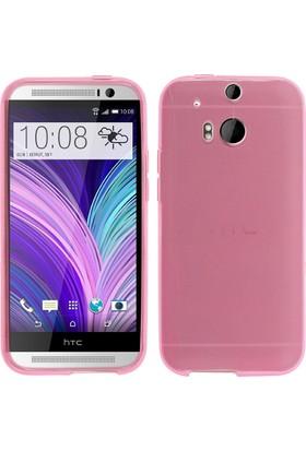 CaseUp HTC One M8s Kılıf İnce Silikon Cam