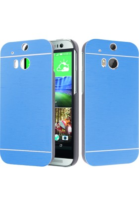 CaseUp HTC One M8s Kılıf Metal Korumalı Cam
