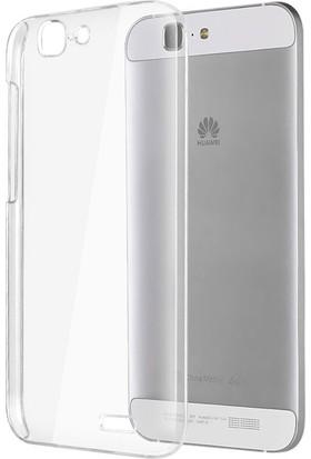 CaseUp Huawei Ascend G7 Kılıf Kristal Şeffaf Cam