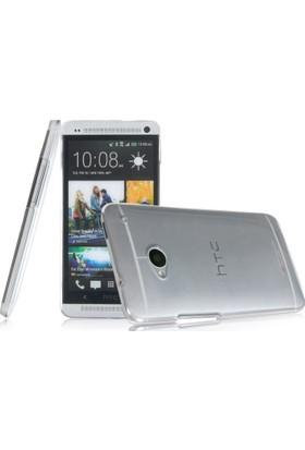 CaseUp kristal Şeffaf kılıf - HTC ONE M7 Cam