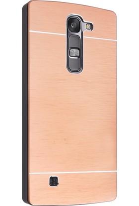 CaseUp LG Magna Kılıf Metal Korumalı Cam