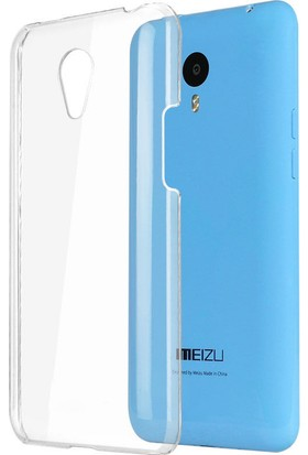 CaseUp Meizu M1 Note Kılıf Kristal Şeffaf Cam