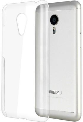 CaseUp Meizu MX5 Kılıf Kristal Şeffaf Cam