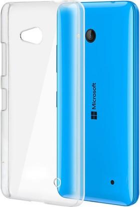 CaseUp Microsoft Lumia 640 Kılıf Kristal Şeffaf Cam