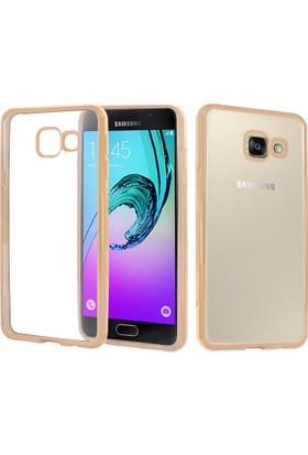 CaseUp Samsung Galaxy A3 2016 Kılıf Lazer Kesim Silikon Cam