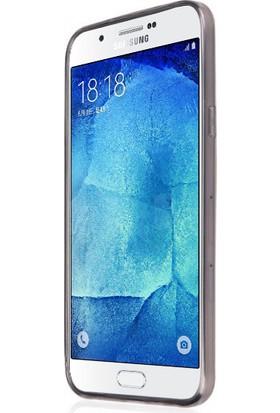 CaseUp Samsung Galaxy A8 Kılıf İnce Silikon Cam