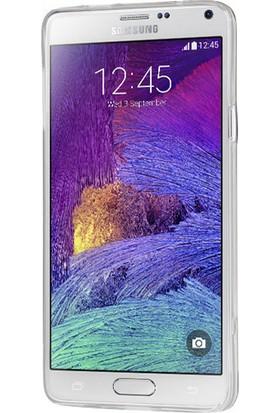 CaseUp Samsung Galaxy Note 4 Kılıf İnce Silikon Cam