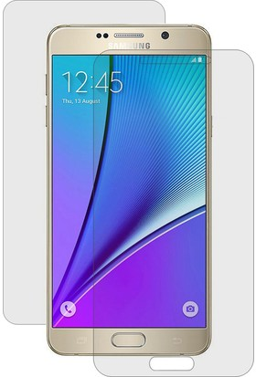 CaseUp Samsung Galaxy Note 5 Ön + Arka Kavisler Dahil Tam Ekran Kaplayıcı Film Cam