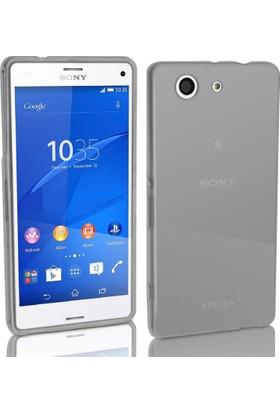 CaseUp Sony Xperia Z3 Compact ( Z3 Mini) Kılıf İnce Silikon Cam