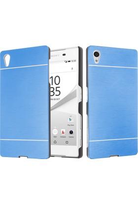 CaseUp Sony Xperia Z5 Kılıf Metal Korumalı Cam