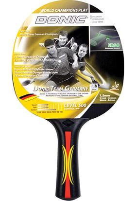 Donic Team Germany 500 Ittf Onaylı Masa Tenisi Raketi