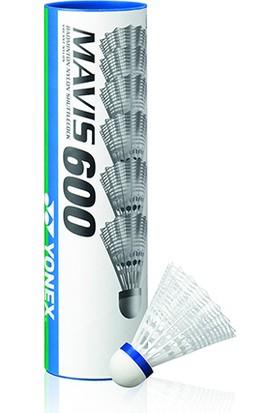 Yonex Mavis 600 6 Lı Badminton Topu Beyaz