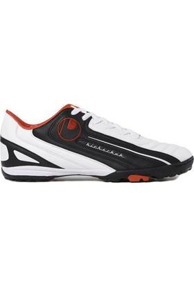 Uhlsport Kickschuh Turf Jr Halısaha Ayakkabısı Siyah - Beyaz - Kırmızı