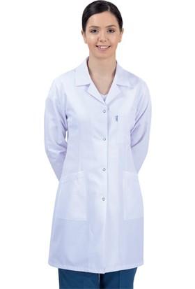 Usr Öğretmen-Doktor Önlüğü Bayan Beyaz