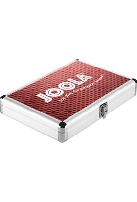 Joola Kırmızı Aluminyum Raket Kılıfı
