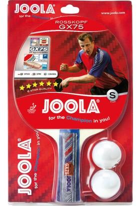 Joola Rosskopf Gx75 - ITTF Onaylı Masa Tenisi Raketi + 2 Top