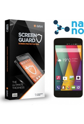 Dafoni General Mobile Discovery 2 Mini Nano Glass Premium Cam Ekran Koruyucu