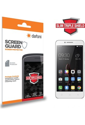 Dafoni Lenovo Vibe C A2020 Slim Triple Shield Ekran Koruyucu