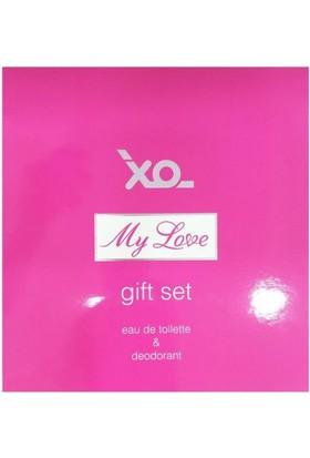 XO My Love Set 100 ml EDT Kadın Parfüm + 150 ml Deodorant Set