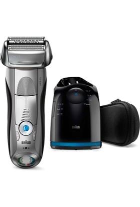 Braun 7 Serisi 7899cc Temizleme ve Şarj Ünitesi ile Islak ve Kuru Tıraş Makinesi