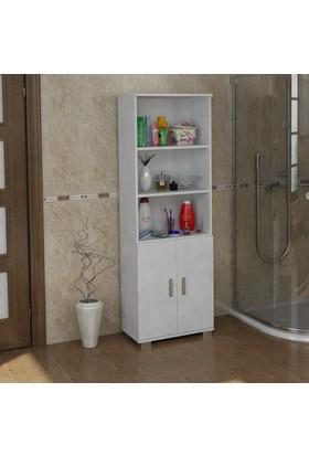 Sanal Mobilya Sorrento Çok Amaçlı Banyo Dolabı G1-K4