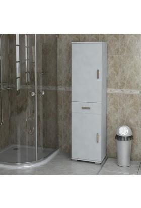 Sanal Mobilya Sorrento Çok Amaçlı Banyo Dolabı G2-Ç1-K5-K8