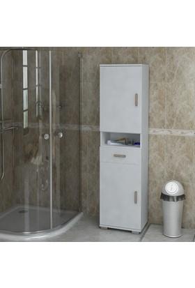 Sanal Mobilya Sorrento Çok Amaçlı Banyo Dolabı G2-Ç1-K6