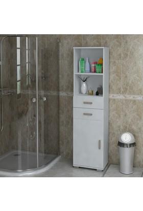 Sanal Mobilya Sorrento Çok Amaçlı Banyo Dolabı G2-Ç2-K5