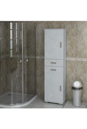 Sanal Mobilya Sorrento Çok Amaçlı Banyo Dolabı G2-Ç2-K6