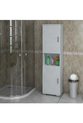 Sanal Mobilya Sorrento Çok Amaçlı Banyo Dolabı G2-K6