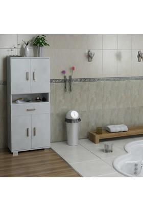 Sanal Mobilya Sorrento Çok Amaçlı Banyo Dolabı G3-Ç3-K1-K1