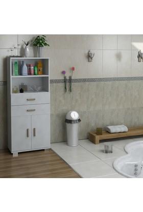 Sanal Mobilya Sorrento Çok Amaçlı Banyo Dolabı G3-Ç4-K1
