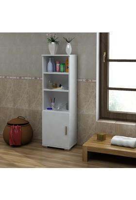 Sanal Mobilya Sorrento Çok Amaçlı Banyo Dolabı G4-K2
