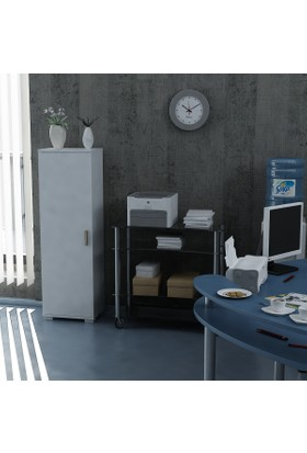 Sanal Mobilya Sorrento Çok Amaçlı Ofis Dolabı G4-K10