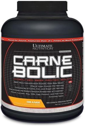 Ultimate Carnebolic Beef Protein Orange 3.5 Lb 1680G.