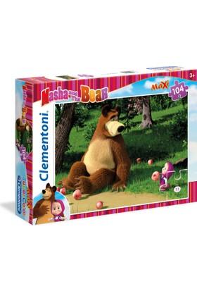 Clementoni 23690 Masha And The Bear 3 Maxi 104 Parça Puzzle