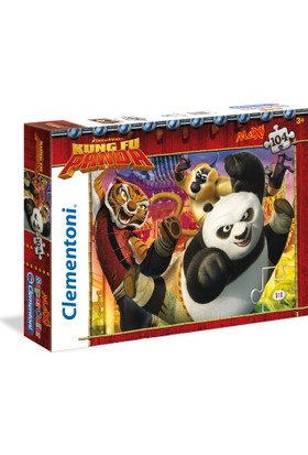 Clementoni 23693 Kung Fu Panda 104 Parça Maxi Çocuk Puzzle
