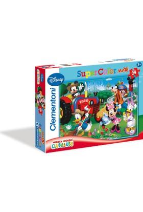 Clementoni 24 Parça Xxl Puzzle: Mickey Ve Arkadaşları Bahçede