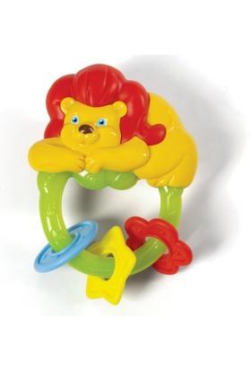 Baby Clementoni Diş Kaşıyıcı Aslan Çıngırak