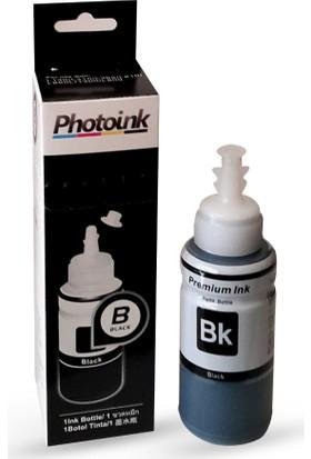 Photo Ink Epson T6641 Uyumlu 70 Ml Siyah Mürekkep - Kutulu Özel Ambalajında Photoink Plus Mürekkep - L100/L110/L200/L210/L220/ L300/L310/L355/L365/L455/L550/L565 /L800/L810/L850/L1300/L1800
