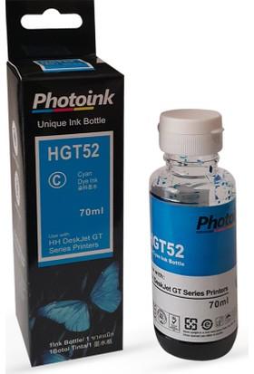 Photo Ink Hp Gt Serisi Yazıcılar İçin Photoink Plus Mavi Mürekkep - Hp Gt 5810 - Gt5820 Uyumlu