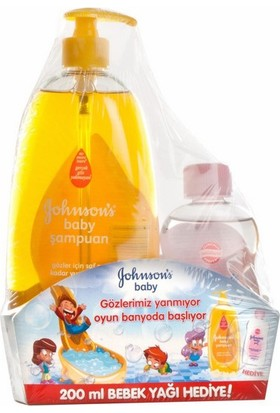 JB 750 ml Şampuan + 200 ml Yağ