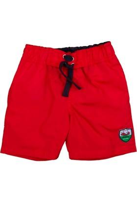 Bebepan Sports Mayo Şort Kırmızı 6-9 Ay