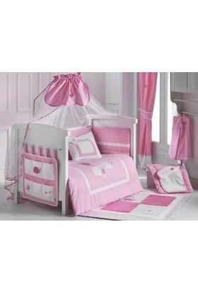 Kidboo 8 Parça Uyku Seti - Lovely Animals Pink 60*120