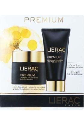 Lierac Premium The Voluptuous Cream - Lierac Premium Supreme Mask