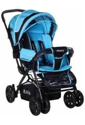 Prava Deluxe Bebek Arabası - Mavi
