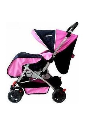 Terra Stolz Çift Yönlü Bebek Arabası - Pembe