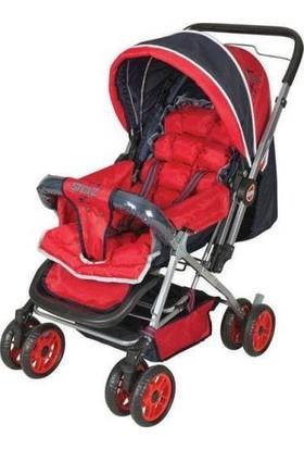 Terra Stolz Çift Yönlü Bebek Arabası - Siyah