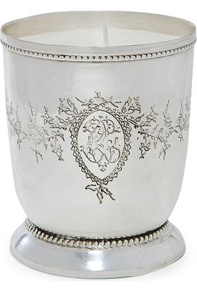 Yargıcı Gümüş Kaplama Kokulu Mum ( 8 X 7 Cm)